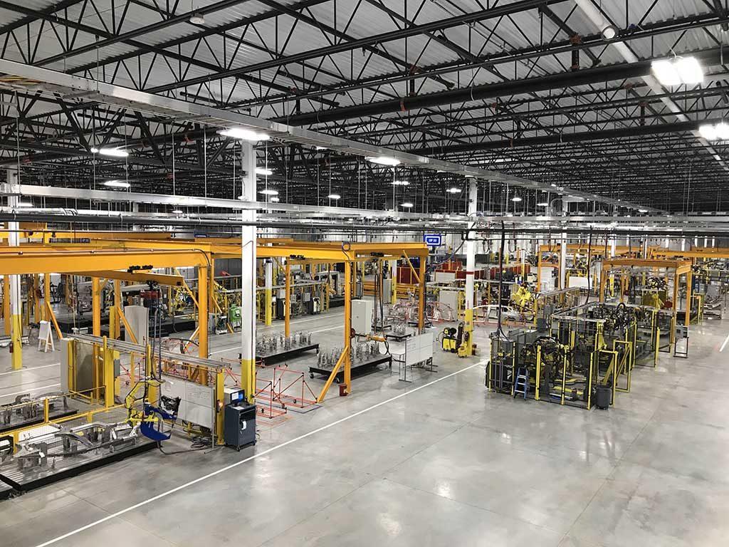 prototype manufacturing plant