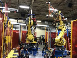 robotic automotive manufacturing