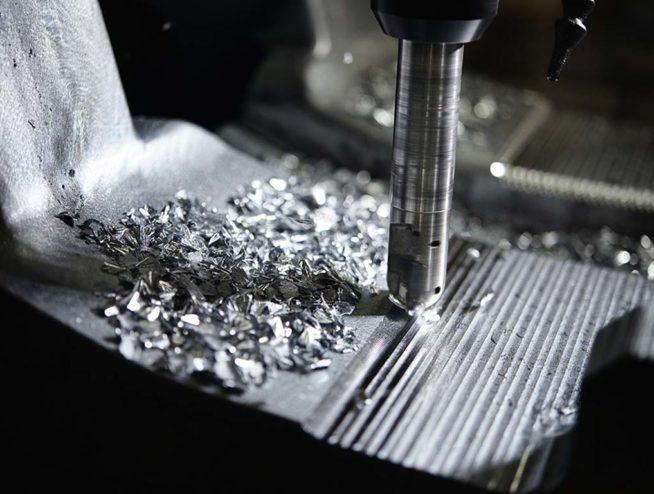 metal drill mill