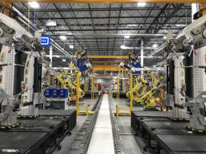 Hybrid assembly production